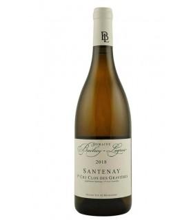 Santenay blanc 1er cru Clos des Gravières 2018 - Domaine Bachey-Legros