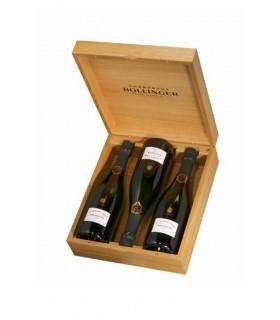 Bollinger Grande Année 2007 coffret bois 3 bouteilles