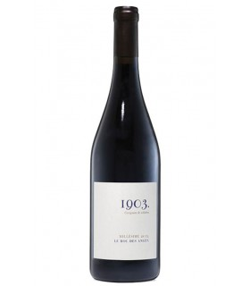 "Côtes Catalanes rouge Carignan ""1903"" 2017 - Le Roc des Anges"
