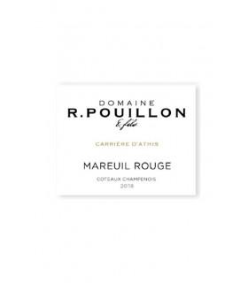 """Coteaux Champenois rouge """"Carrière d'Athis"""" 2018 - Champagne R. Pouillon"""
