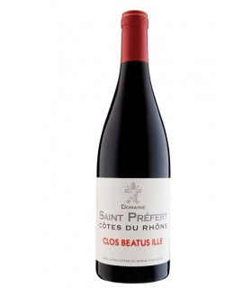 """Côtes du Rhône rouge """"Clos Beatus Ille"""" 2019 - Domaine Saint Préfert"""